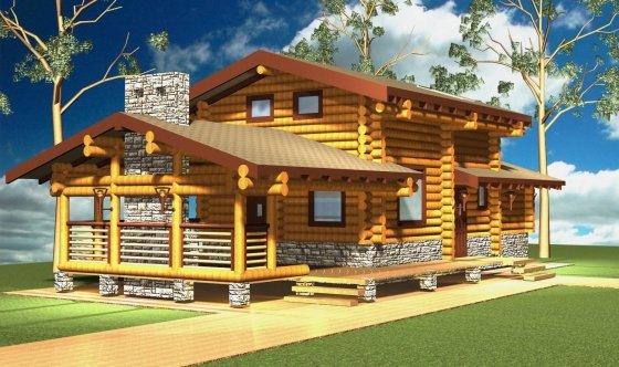 дешевые проекты деревянных домов и бань
